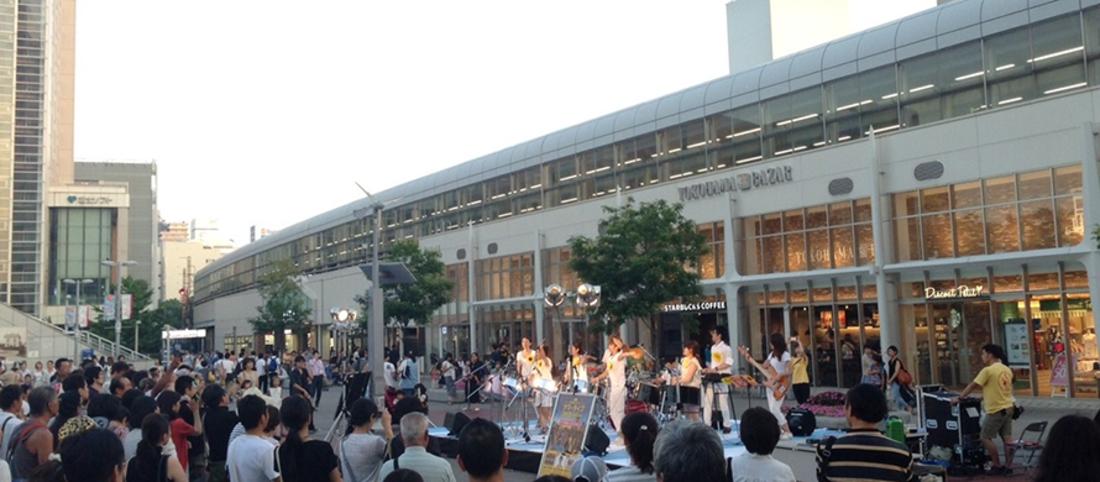 桜木町駅前広場